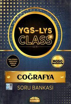 Robert Yayınları YGS LYS Coğrafya Class Soru Bankası