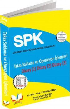 Roper Yayınları SPK SPF Lisanslama 1012 Takas Saklama ve Operasyon İşlemleri Düzey 1 2 3
