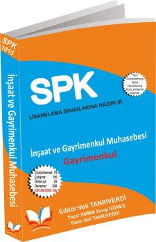 Roper Yayınları SPK SPF Lisanslama 1015 İnşaat ve Gayrimenkul Muhasebesi Gayrimenkul