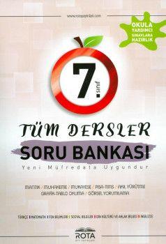Rty Rota Yayınları 7. Sınıf Tüm Dersler Soru Bankası
