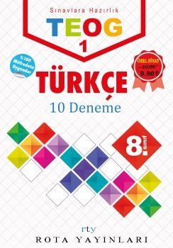 Rty Rota Yayınları 8. Sınıf TEOG 1 Türkçe Deneme