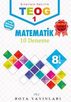 Rty Rota Yayınları 8. Sınıf TEOG 1 Matematik Deneme