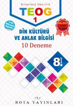 Rty Rota Yayınları 8. Sınıf TEOG 1 Din Kültürü ve Ahlak Bilgisi Deneme