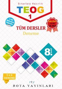 Rty Rota Yayınları 8. Sınıf TEOG 1 Tüm Dersler 5 Deneme
