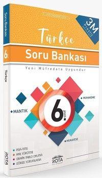 Rty Rota Yayınları 6. Sınıf Türkçe Soru Bankası