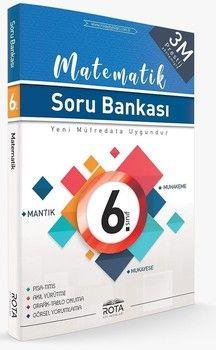 Rty Rota Yayınları 6. Sınıf Matematik Soru Bankası