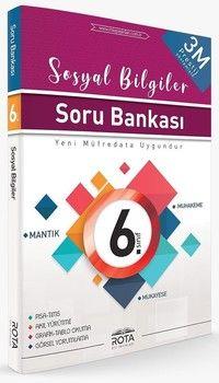 Rty Rota Yayınları 6. Sınıf Sosyal Bilgiler Soru Bankası