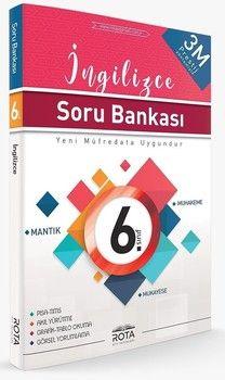 Rty Rota Yayınları 6. Sınıf İngilizce Soru Bankası
