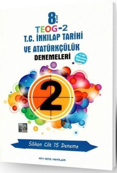 RTY Rota Yayınları 8. Sınıf TEOG 2 T.C. İnkılap Tarihi ve Atatürkçülük Denemeleri