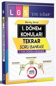 RTY Rota Yayınları 8. Sınıf LGS 1. Dönem Konuları Tekrar Soru Bankası