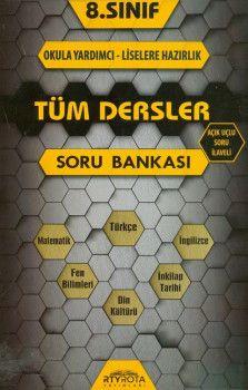 RTY Rota Yayınları 8 .Sınıf Tüm Dersler Soru Bankası