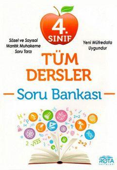 RTY Rota Yayınları 4. Sınıf Tüm Dersler Soru Bankası