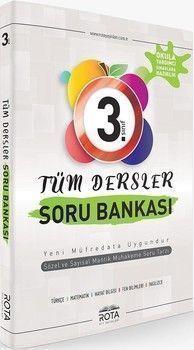 RTY Rota Yayınları 3. Sınıf Tüm Dersler Soru Bankası