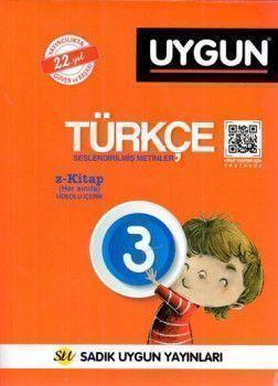 Sadık Uygun Yayınları 3. Sınıf Türkçe