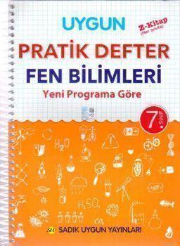 Sadık Uygun Yayınları 7. Sınıf Fen Bilimleri Pratik Defter
