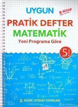 Sadık Uygun Yayınları 5. Sınıf Matematik Pratik Defter