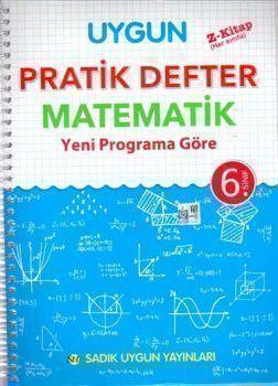 Sadık Uygun Yayınları 6. Sınıf Matematik  Pratik Defter