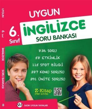 Sadık Uygun Yayınları 6. Sınıf İngilizce Soru Bankası