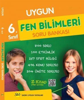 Sadık Uygun Yayınları 6. Sınıf Fen Bilimleri Soru Bankası
