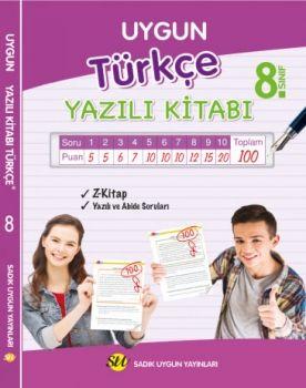 Sadık Uygun Yayınları 8. Sınıf Türkçe Yazılı Kitabı