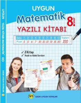Sadık Uygun Yayınları 8. Sınıf Matematik Yazılı Kitabı