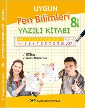 Sadık Uygun Yayınları 8. Sınıf Fen Bilimleri Yazılı Kitabı
