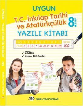 Sadık Uygun Yayınları 8. Sınıf T.C. İnkılap Tarihi ve Atatürkçülük Yazılı Kitabı