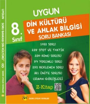 Sadık Uygun Yayınları 8. Sınıf Din Kültürü ve Ahlak Bilgisi Soru Bankası