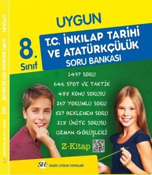 Sadık Uygun Yayınları 8. Sınıf T.C. İnkılap Tarihi ve Atatürkçülük Soru Bankası