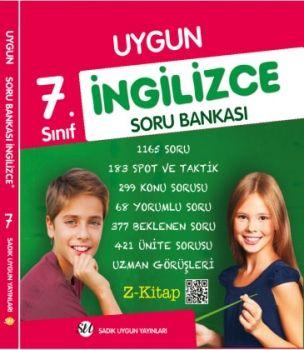 Sadık Uygun Yayınları 7. Sınıf İngilizce Soru Bankası