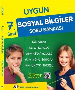 Sadık Uygun Yayınları 7. Sınıf Sosyal Bilgiler Soru Bankası