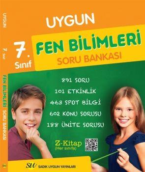 Sadık Uygun Yayınları 7. Sınıf Fen Bilimleri Soru Bankası