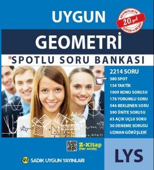 Sadık Uygun Yayınları LYS Geometri Spotlu Soru Bankası