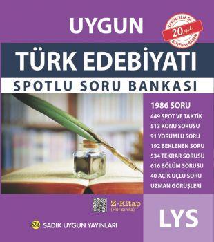 Sadık Uygun Yayınları LYS Türk Edebiyatı Spotlu Soru Bankası