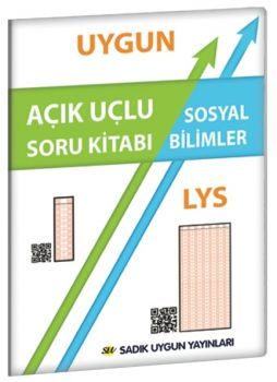 Sadık Uygun Yayınları LYS Sosyal Bilimler Açık Uçlu Soru Kitabı