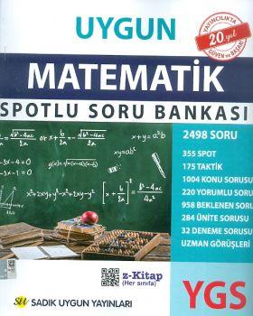 Sadık Uygun Yayınları YGS Matematik Spotlu Soru Bankası
