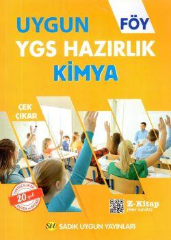 Sadık Uygun Yayınları YGS Kimya Hazırlık FÖY
