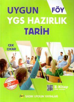 Sadık Uygun Yayınları YGS Tarih Hazırlık FÖY