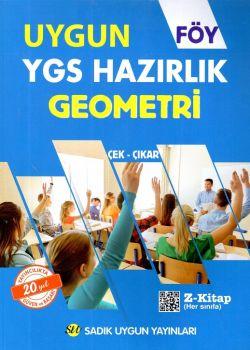 Sadık Uygun Yayınları YGS Geometri Hazırlık FÖY