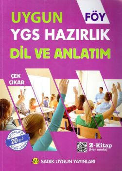 Sadık Uygun Yayınları YGS Dil ve Anlatım Hazırlık FÖY