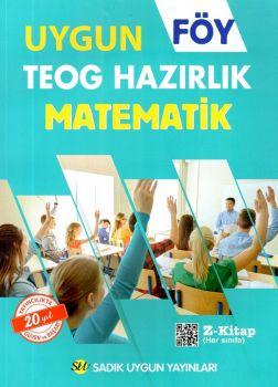 Sadık Uygun Yayınları 8. Sınıf TEOG Matematik Hazırlık FÖY