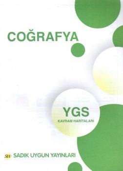 Sadık Uygun Yayınları YGS Coğrafya Kavram Haritaları