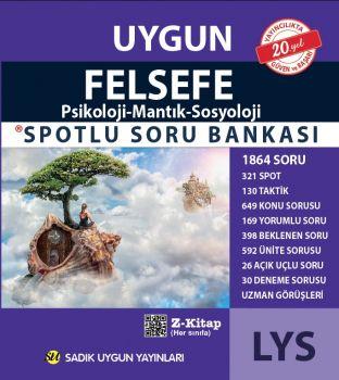Sadık Uygun Yayınları LYS Felsefe Spotlu Soru Bankası