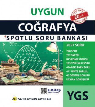 Sadık Uygun Yayınları YGS Coğrafya Spotlu Soru Bankası