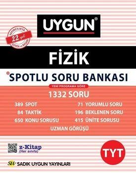 Sadık Uygun Yayınları TYT Fizik Spotlu Soru Bankası