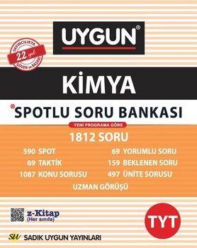 Sadık Uygun Yayınları TYT Kimya Spotlu Soru Bankası
