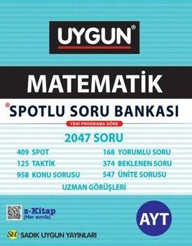 Sadık Uygun Yayınları AYT Matematik Spotlu Soru Bankası