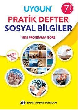 Sadık Uygun Yayınları7. Sınıf Sosyal Bilgiler Pratik Defter