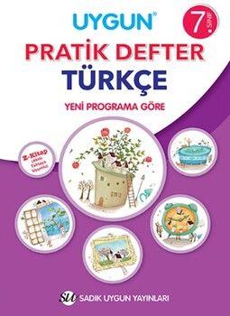 Sadık Uygun Yayınları 7. Sınıf Türkçe Pratik Defter