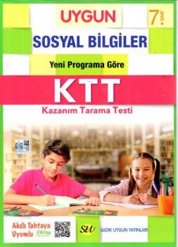Sadık Uygun Yayınları 7. Sınıf Sosyal Bilgiler Kazanım Tarama Testi